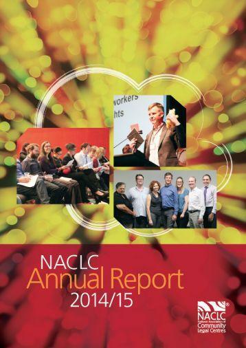 NACLC Annual Report 2014/15