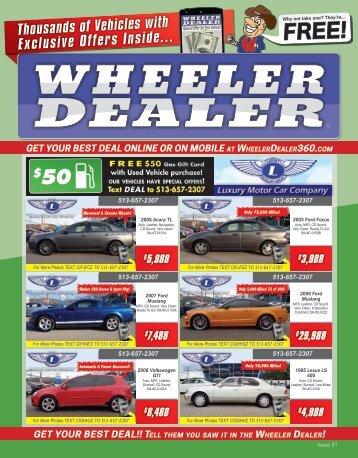 Wheeler Dealer Issue 51, 2015