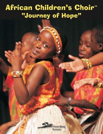 African Children's Choir Keynotes:Layout 1.qxd - State Theatre