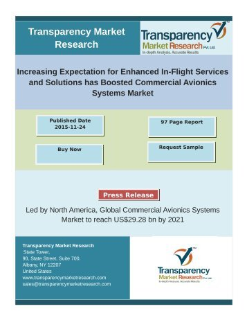 Commercial Avionics Systems Market
