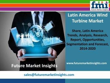 Latin America Wind Turbine Market