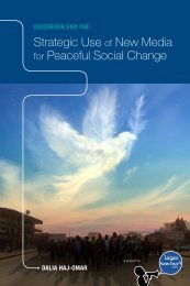 Strategic Use New Media Peaceful Social Change
