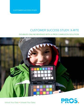 CUSTOMER SUCCESS STUDY X-RITE