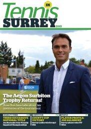 Tennis in Surrey 2015