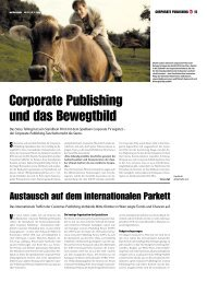 corporate publishing und das bewegtbild - spri