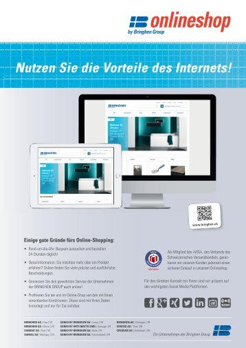 ONLINESHOP by Bringhen Group: Nutzen Sie die Vorteile des Internets!