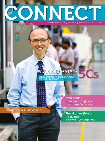 Issue 1 2012 - Singapore Manufacturing Federation