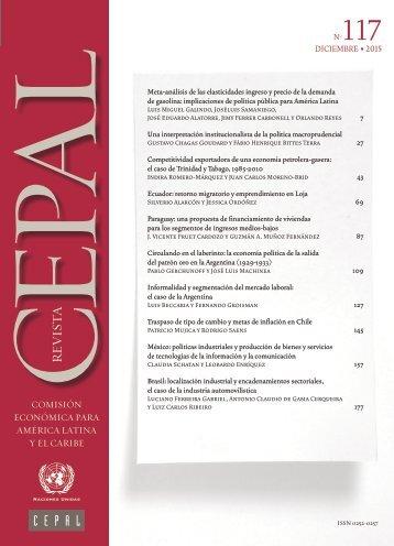 Revista CEPAL Nº117
