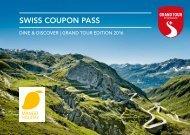 Swiss Coupon Pass 2016  ManogHoliday
