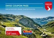 Swiss Coupon Pass 2016 Hallwag English