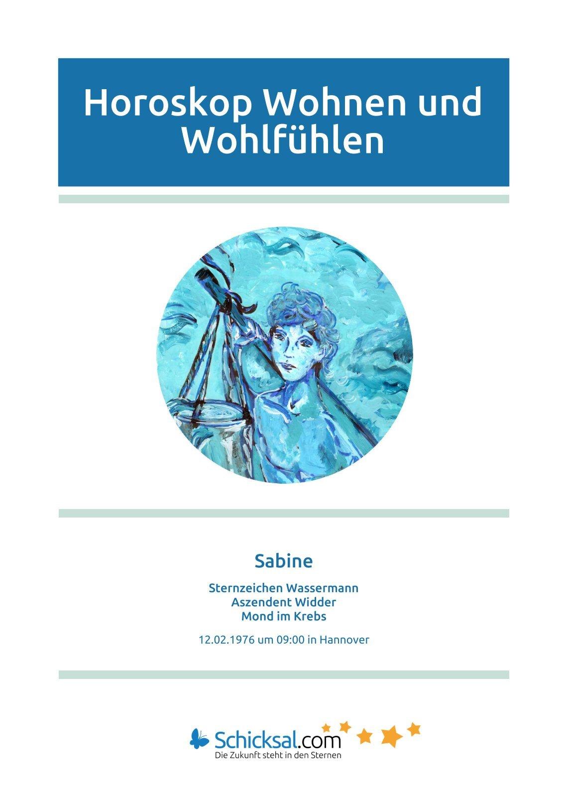 Wassermann - Wohnen und Wohlfühlen