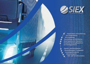 Imagebroschüre SIEX