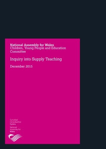 Inquiry into Supply Teaching