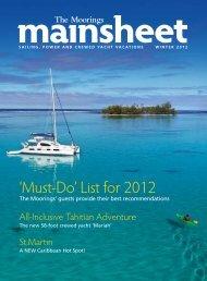 Download Mainsheet - Winter 2011 (PDF Document ... - The Moorings