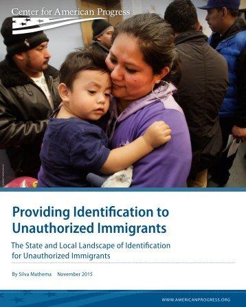 Providing Identification to Unauthorized Immigrants