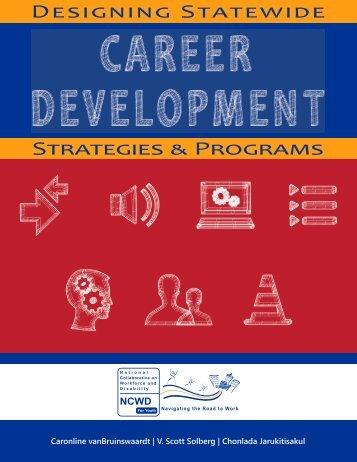 Designing Statewide Strategies & Programs