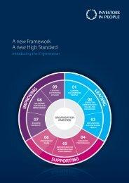 A new Framework A new High Standard