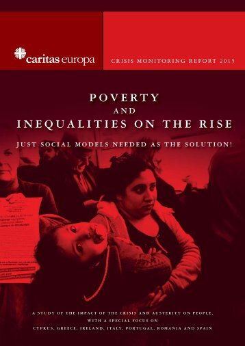 POVERTY INEQUALITIES ON THE RISE