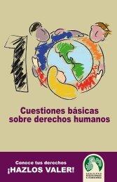Cuestiones básicas sobre derechos humanos
