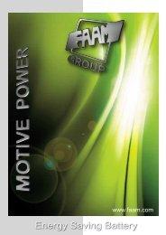 Energy Saving Battery - Faam