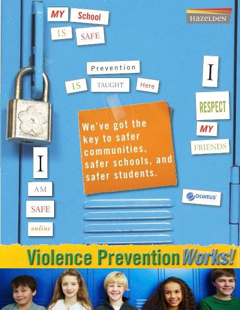 Violence Prevention Works Mailer for Hazelden