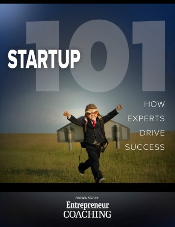 Startup 101 How Experts Drive Success