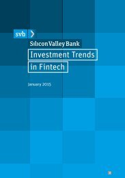 Investment Trends in Fintech