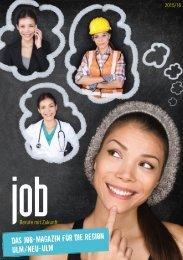 JOBS – Berufe mit Zukunft – Ulm/Neu-Ulm