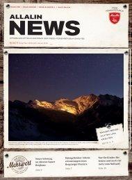 Allalin News Nr. 18/2015