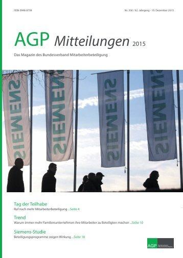 AGP Mitteilungen 2015