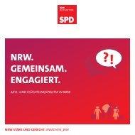 Asyl- und Flüchtlingspolitik in NRW