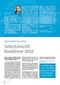 SelectLine insider - Sondersausgabe Roadshow - Page 2