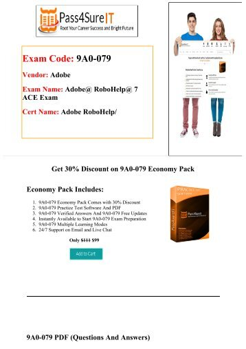 Pass4sure Adobe 9A0-079 Exam Questions & Practice Tests