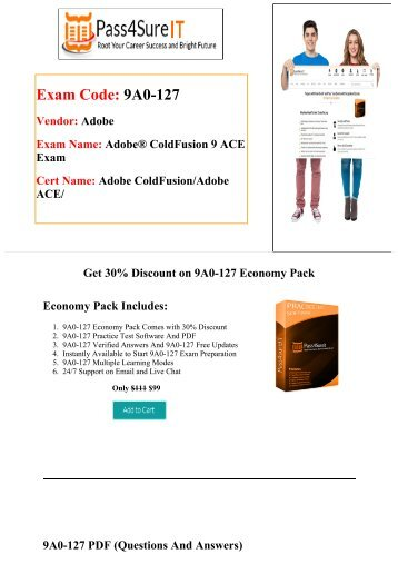 Pass4sure Adobe 9A0-127 Exam Quick Study and Get Discount