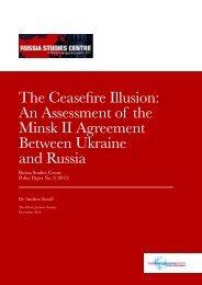 Minsk II Agreement Between Ukraine and Russia