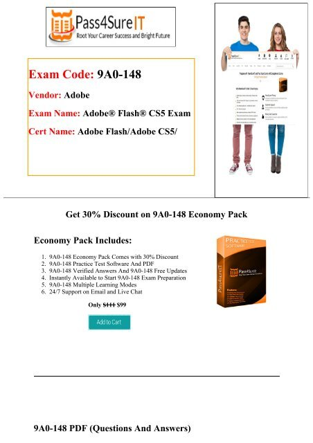 Pass4sure Adobe 9A0-148 Exam Questions & Practice Tests