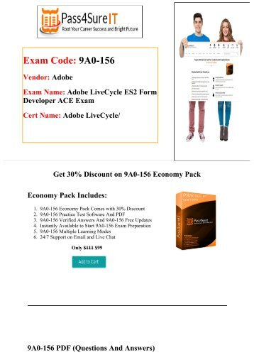 Pass4sure Quick Study for Adobe 9A0-156 Exam