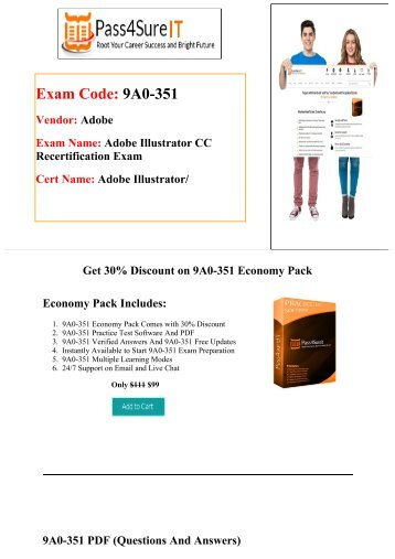 Pass4sure Adobe 9A0-351 Exam Quick Study and Get Discount