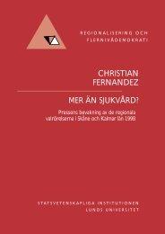 Läs rapporten här! (PDF-dokument 320 Kb) - Statsvetenskapliga ...