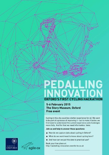 Pedalling Innovation flyer