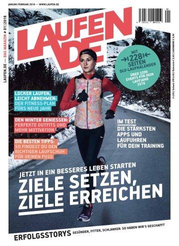 laufen.de – das Magazin Januar/Februar 2016