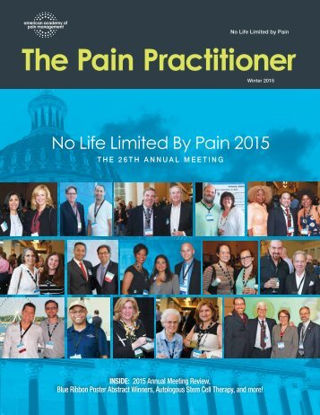 The Pain Practitioner