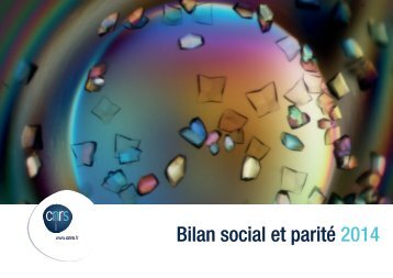 Bilan social et parité 2014