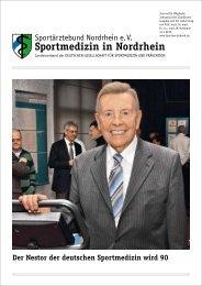 Sportmedizin in Nordrhein