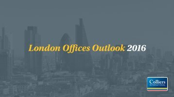 London Offices Outlook 2016