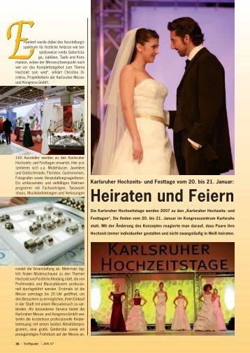 Wir heiraten - Treffpunkt Karlsruhe