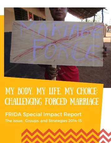 Body My Life My Choice My Forced Marriage Challenging