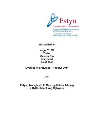 Adroddiad arolygiad Ysgol Yr Eifl 2014.pdf.pdf.pdf.pdf.pdf.pdf.pdf.pdf