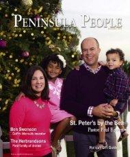 Peninsula People Magazine Dec 2015