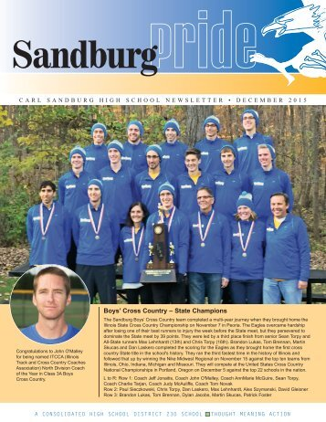 Boys' Cross Country – State Champions